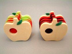 画像1: kino フェルトカードスタンド りんご