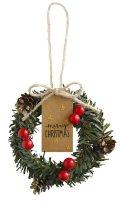 decole concombre 森のクリスマス ふたつのちいさなリース