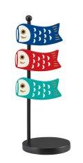 concombre まったり 2020五月飾り 鯉のぼりクリップ&スタンド