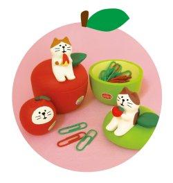 画像2: concombre フルーツパーラー 2020 りんご小物入れ 青りんご