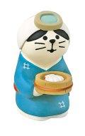 concombre  貝猫 海女さん猫
